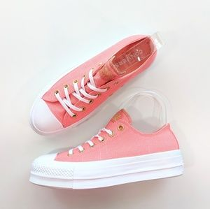 Converse CTAS Lift OX  Low Pink/Driftwood/White